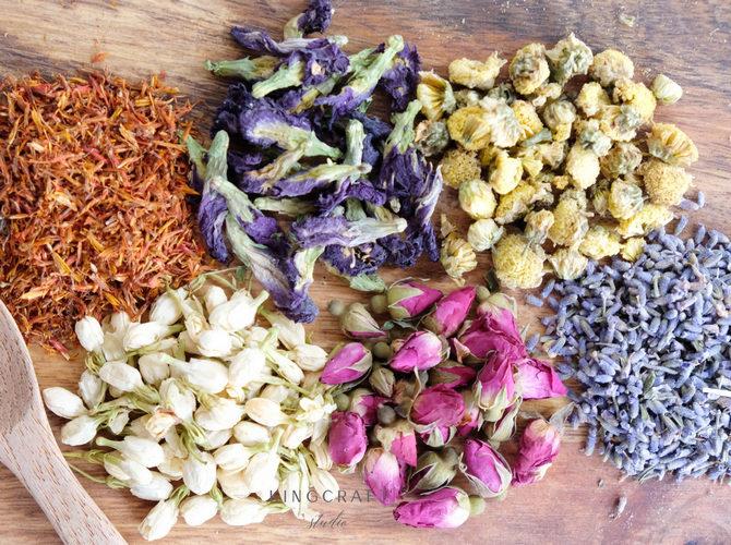 Choices of Flower Tea